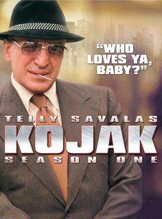 Telly 'Who loves ya, Baby?' Savalas ~ Kojak ~ 1970s series.