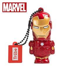 b4f6d31e3acf Tribe Marvel The Avengers Pendrive Figure USB Flash Drive Memory Stick Data  Storage - Iron Man