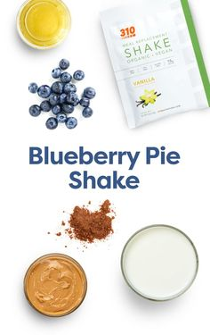 This Blueberry Pie Shake tastes like a sweet treat, it qualifies as an actual meal with all the nourishment you need – so it's perfect for your healthy dietary plan. Protein Powder Recipes, Protein Shake Recipes, Protein Shakes, Healthy Breakfast Recipes, Healthy Recipes, Drink Recipes, Yummy Drinks, Healthy Drinks, Spice Things Up