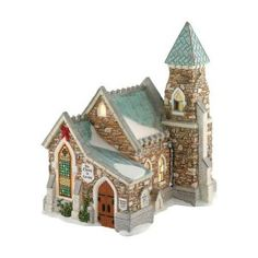 Dickens A Christmas Carol Village from Department 56 The Church At Cornhill