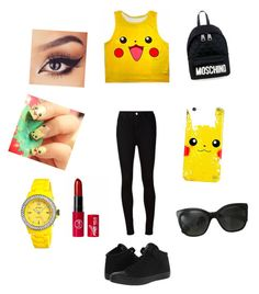 """Untitled #12"" by nicmarb on Polyvore featuring AG Adriano Goldschmied, Converse, Chanel, Jet Set and Moschino"