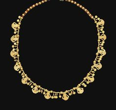 AN ACHAEMENID GOLD AND CORNELIAN NECKLACE  CIRCA 4TH CENTURY B.C., Christie's.