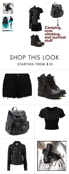 """Salaria ""Slate"" Halworth (OC)"" by hybridfandomgirl ❤ liked on Polyvore featuring Boohoo, Forever 21, LE3NO and Witchery"