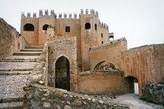 Castillo de los Fajardo. Siglo XVI. Castle of Fajardo. Velez Blanco. Almeria. Spain.