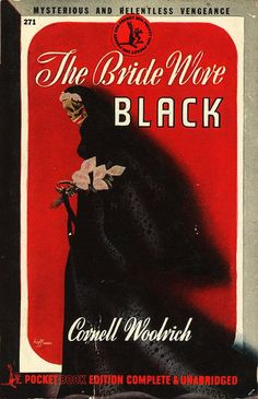 Pocket Books 271 - Cornell Woolrich - The Bride Wore Black | by swallace99