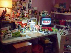 Art Studio Spring CLEAN up by mememarlin, via Flickr