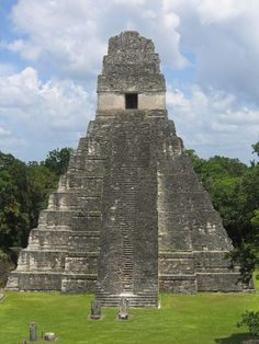 Tikal (/tiˈkäl/) (Tik'al in modern Mayan orthography) is the ruin of an ancient city, which was likely to have been called Yax Mutal, found in a rainforest in Guatemala. Peten Basin