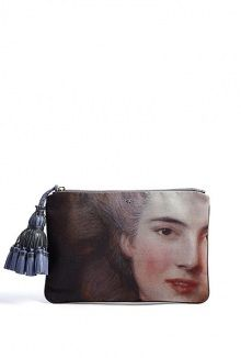 Courtney Lady Printed Clutch by Anya Hindmarch