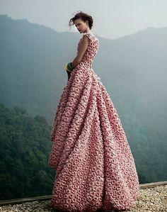 TRICO y CROCHET-madona-mía: Novias Crochet Irlandés Modelos
