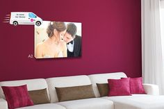 An personalised canvas from Your Perfect Canvas (was OR redeem for a Wowcher Wallet Credit. Big Canvas, Canvas Prints, Personalised Canvas, Things To Buy, Stuff To Buy, Anniversary Photos, Wedding Anniversary, Experience Gifts, Wolverhampton