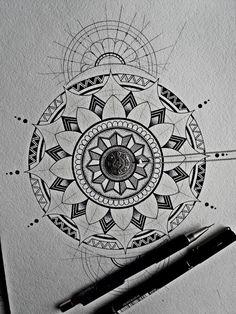 New mandala by drawingsbylenna23