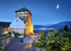 Schloss Hotel Korb, Missiano, #Italy - a brilliant hilltop 12thC medieval castle-tower hotel