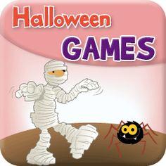 Halloween games and activities for the young learners' classroom. Great for toddlers, preschool, kindergarten, ESL/EFL, & home school.
