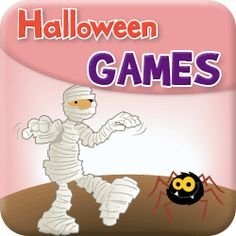 Simple Halloween games for children to play at parties or in class. Ideal for Pre-K and English as a Foreign Language students.