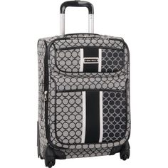 Ninewest Luggage Sign Me Up 20 Inch Expandable Spinner, Black/Ivory, One Size Nine West http://www.amazon.com/dp/B009NEHDR2/ref=cm_sw_r_pi_dp_wz9ivb0JF2AT9