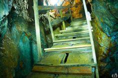 Hard road Inside San Antonio Mine. Mineral del Chico, Pachuca. February 2014. Eyesee Photographers