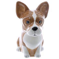 French Bulldog Cute Design Ceramic Money Box Home by getgiftideas
