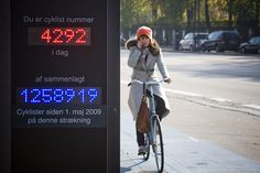 Nice idea! Cyclist 1258919 by Mikael Colville-Andersen, via Flickr