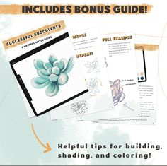 Diy Craft Projects, Craft Ideas, Brush Kit, 2020 Design, Guide Book, Art Tips, Planting Succulents, Art Techniques, Crafts To Make