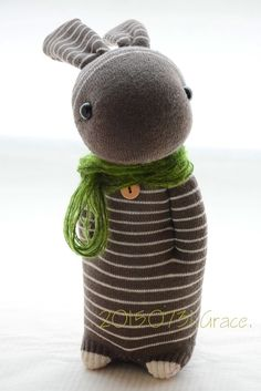 Grace--#219 Sock Domy Rabbit