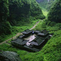 Wulong Chongqing, China - Fascinated with Asian architecture