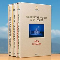 National Geographic Around the World in 125 Years - 3-Volume Collector's Edition Book from TASCHEN