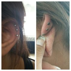 Why didn't I get earrings like this when I got a cartilage piercing
