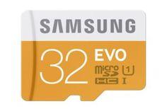 Samsung EVO Micro SDHC Card 32GB with Adapter