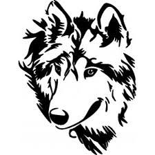 Brand New Wolf 1 Sticker and in stock. High glossy finish, cut from premium 3 mill vinyl, with a life span of 5 - 7 years. Stencil Art, Bear Stencil, Stencils, Bunny And Bear, Head Tattoos, Woodland Nursery Decor, Baby Deer, Animal Nursery, Gravure