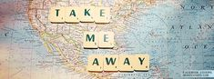 This would be a cute craft. Scrabble pieces on a map!