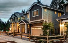 Twilight pictures show off the curb appeal!
