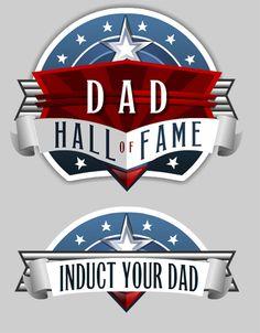 Dad Hall of Fame Logo