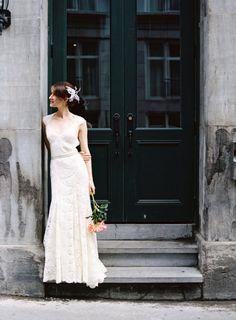 """I don't really like wedding dresses. Even the ones I like, I'm like """"Eh"""". I """"like"""" this one?"""
