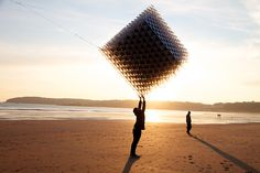 kite cube... by  Ivan Morison and Sash Reading