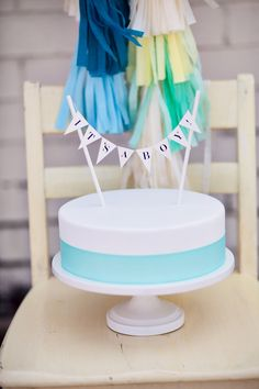 Its A Boy Cake Topper. $18.00, via Etsy.well deff not paying $18 for it but im sure i can make it :)
