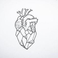 A geometric heart...