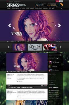 55+ Best Responsive Music WordPress Themes   Designrazzi