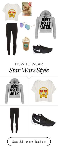 """""""Just Do It Later"""" by mkhouzam on Polyvore featuring Splendid, NIKE, WearAll, women's clothing, women, female, woman, misses and juniors"""