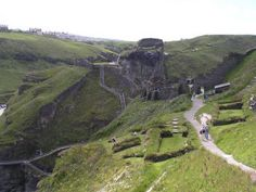 Explore the legend of Arthur and Tintagel Castle in Cornwall