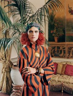 Testa Rossa - Photographed and styled by Venetia Scott; W Magazine August 2014.