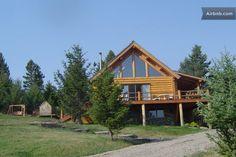 Montana Log Cabin Mountain Home in Bozeman