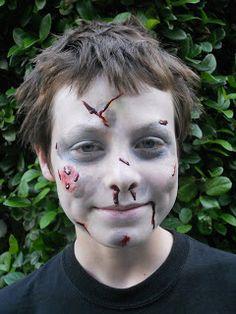 Kids zombie makeup
