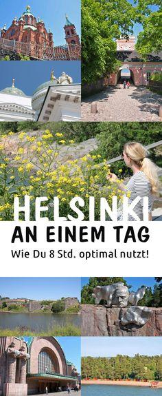 Helsinki an einem Tag: Wie Du 8 Stunden optimal ausnutzt