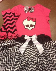 Hey, I found this really awesome Etsy listing at https://www.etsy.com/listing/182541208/monster-high-outfit-monster-high