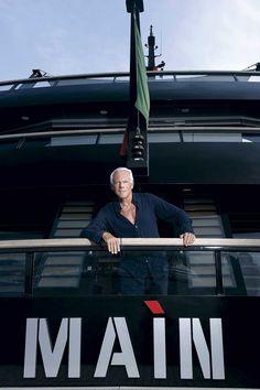 Gallery: Armani's superyacht, Main - Superyacht World | Superyacht World