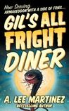 Campy horror but mostly humor.  Earl (vampire) and Duke(werewolf) stop at an all night diner when they run out of gas.  There they encounter zombies, okay zombie cows an evil mistress diabolically uses pig Latin and a Magic 8 Ball for her nefarious plans.  Great debut novel from an author who has written some fun & funny books since then.  -Coleen