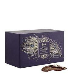 Harrods Dark Chocolate Peppermint Thins available to buy at Harrods. Shop online and earn Rewards points.