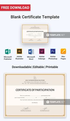 Blank Certificates Templates Free Download Gorgeous Free Death Certificate  Free Certificate Templates  Pinterest .