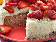 Gâteau fraises coco - Recettes