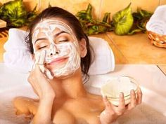At-Home Beauty Treatments for Your Whole Body - Boxer Braids - Coins - Hot Homemade Facial Mask, Homemade Facials, Charcoal Mask Peel, Home Spa Treatments, Boxer Braids, Clay Face Mask, Exfoliant, Skin Elasticity, Skin Problems